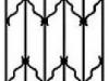 4. biztonságirács minta piskóta dísszel