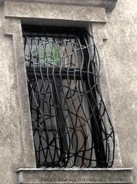 13.biztonsági rács minta extrém dupla hasas ablak