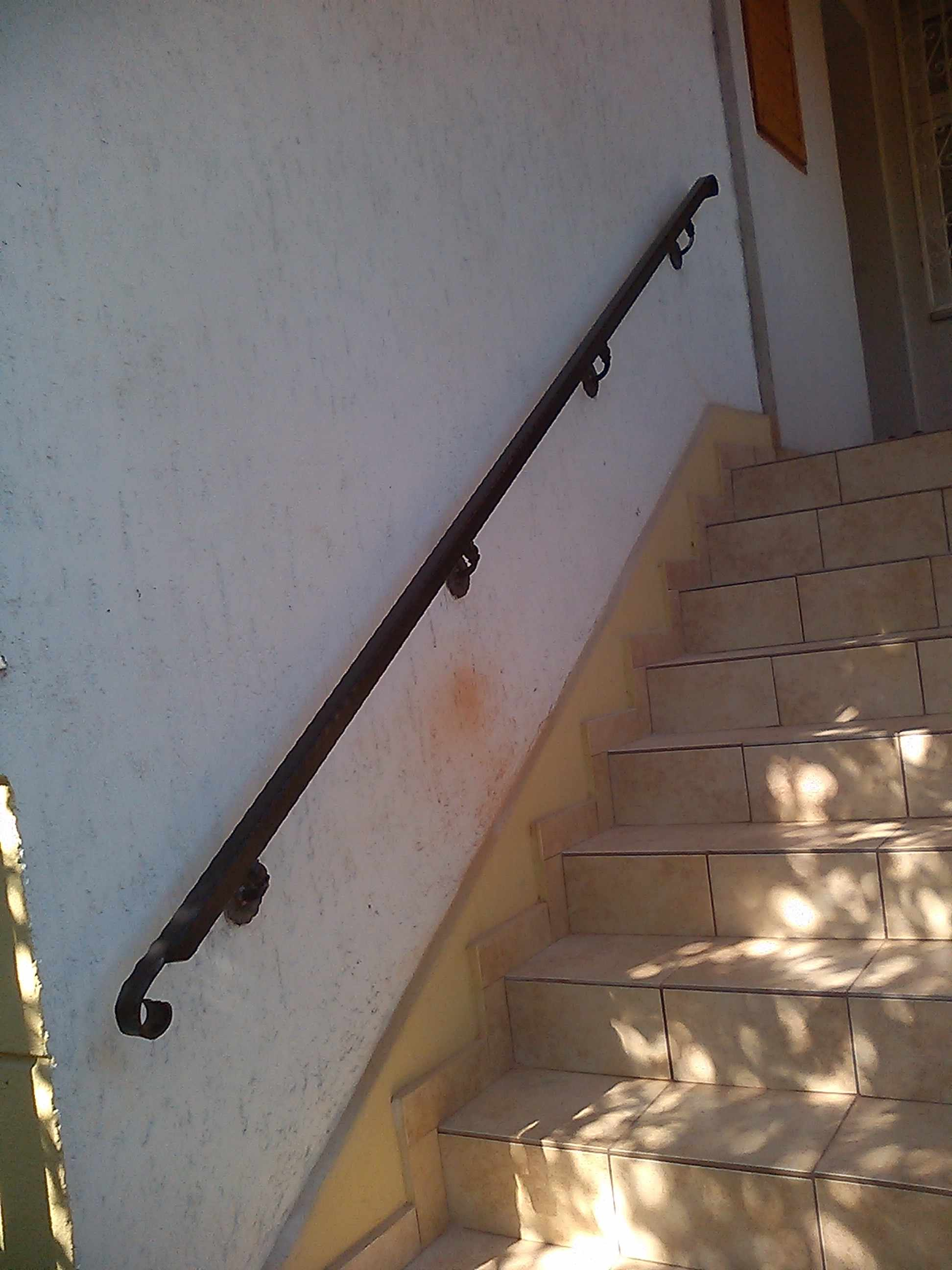 lépcsőház korlát