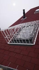extrém tetőtéri ablakrács