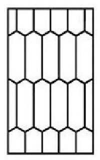 22.biztonsági rács minta méhkaptár-b