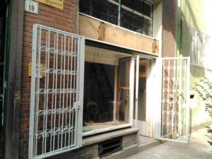 Biztonsági rács ajtóra